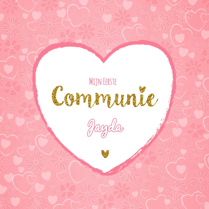 communie uitnodiging