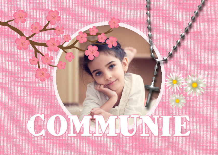 uitnodiging communiefeest